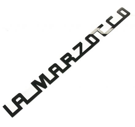 LA MARZOCCO 1991 CUSTOM 430mm ACRYLIC LOGO LARGE (BLACK)